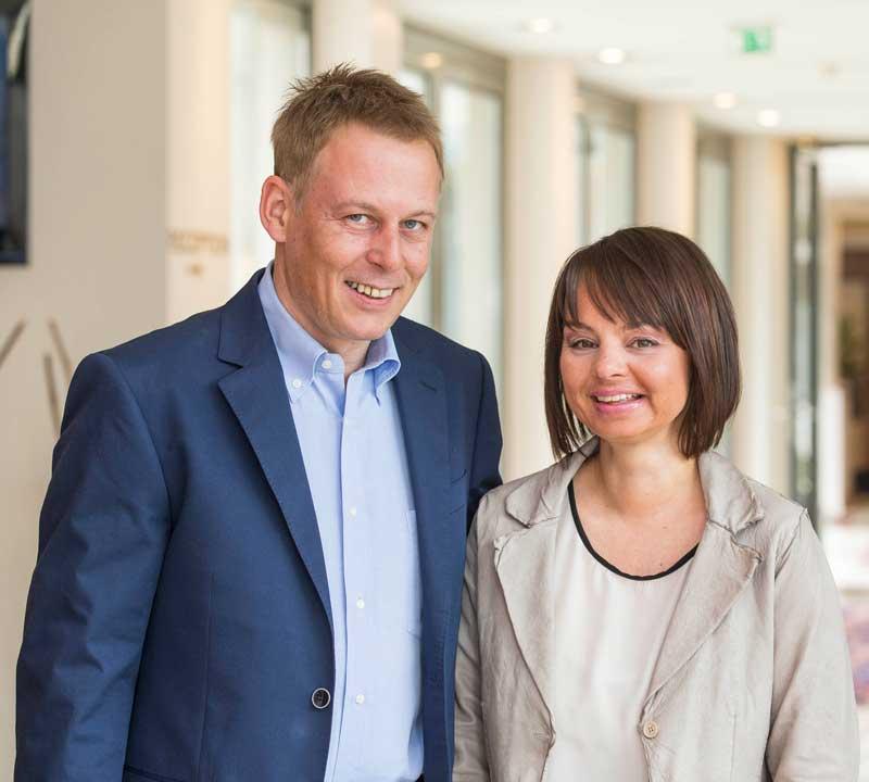 Echte Oldtimer Fans: Raimund Schörghofer und Maria Ammerhauser