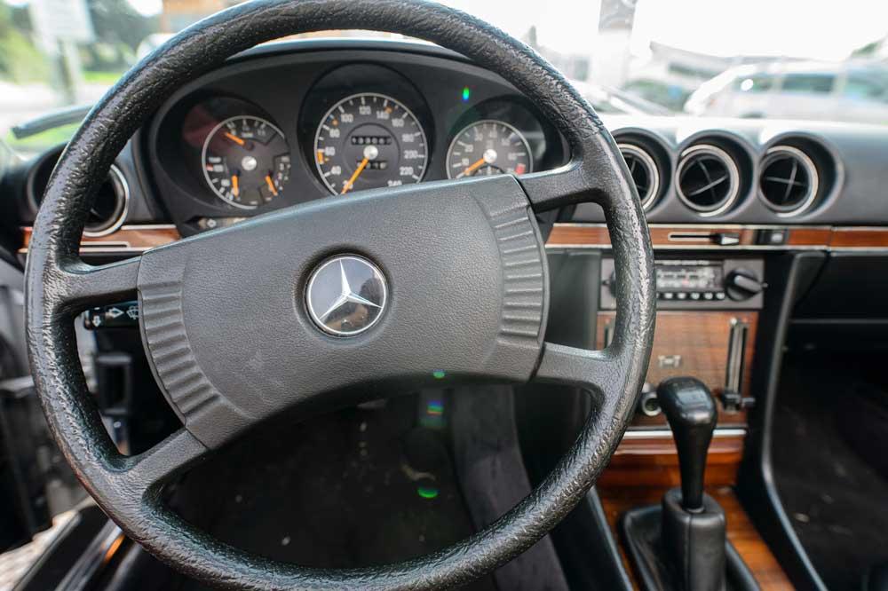 "Das ""Cockpit"" eines Classic Cars"