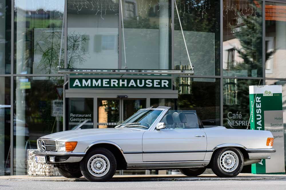 Oldtimer-Hotel Ammerhauser in Anthering bei Salzburg